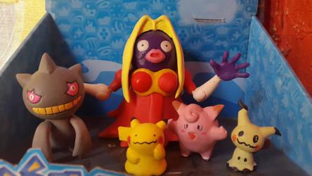 My pokemon custom figures by WaniOWani