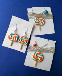 Set - lollipops by SprinklesGirl