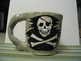Pirate Mug by R777man