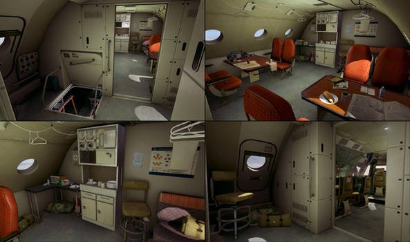SCB - HUB Cabin Prepro: Level Artist by aka-Pencils