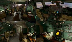 SCB - HUB Cockpit Prepro: Level Artist by aka-Pencils