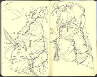 Sketchbook (2010/11): Page 23 by aka-Pencils