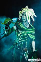 Caithe cosplay by Frimy