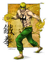 Iron Fist Coloured by PhantomKat813