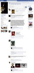 Batman's Facebook Page by PhantomKat813