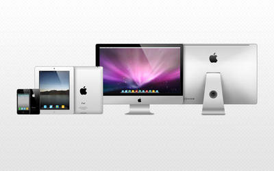 Icons Apple models by JeremDsgn