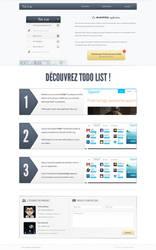 Todo List website by JeremDsgn
