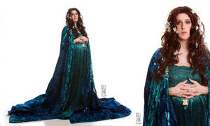 Padme Funeral Dress by kelldarian