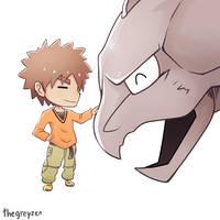 Kanto Leaders - Brock by thegreyzen