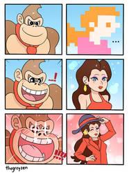 Triggered Kong by thegreyzen
