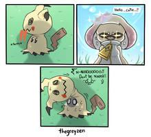Scary Squid by thegreyzen