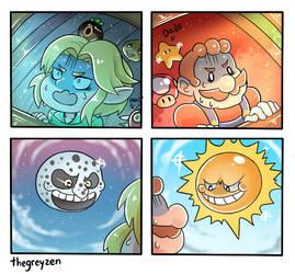 Sun and Moon by thegreyzen