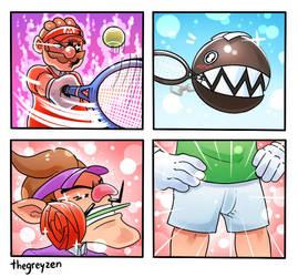 Tennis Hype by thegreyzen