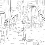Ponies Are up to Something by umneem