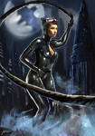 Catwoman by Jackiefelixart