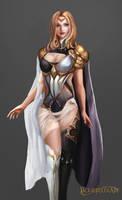 Priestess by Jackiefelixart