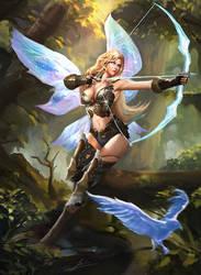 Crystal Ranger by Jackiefelixart