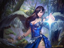 Spellbound Heart by Jackiefelixart