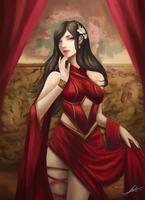Lady Crimson by Jackiefelixart