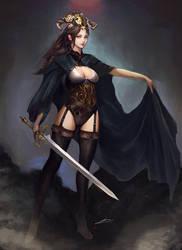 Dark Mistress by Jackiefelixart