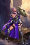 Knight of Elune by Jackiefelixart