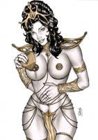 Dejha Thoris by elberty-oliviera