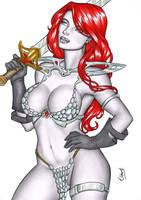 Red Sonja by elberty-oliviera