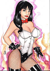 Zatanna by elberty-oliviera