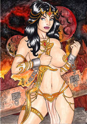 Dejah Thoris by elberty-oliviera