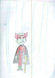 The Miser Ghost aka Scrooge's Ghost by Kelseyalicia