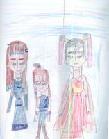 Indigo, Azure and Lavender by Kelseyalicia