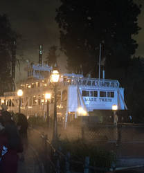 Ghostly Ship on the River by SoniaStrummFan217