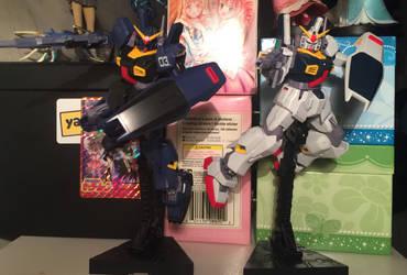 High Grade RX-178 Gundam Mk-II Revive Review  by SoniaStrummFan217