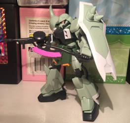 HG 1/144 Zaku Warrior  by SoniaStrummFan217
