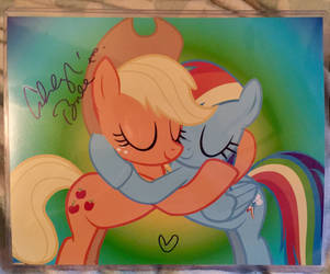 Ashleigh Ball Signed Picture by SoniaStrummFan217