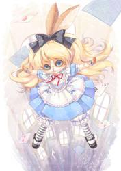 Alice's Adventures in Wonderla by swdd-cat