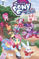 My Little Pony: Legends of Magic #6 RI cover by AbbyStarling