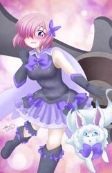 Demi-Magical Girl Chaldea*Mash by AbbyStarling