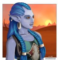 Shazwa the Troll by Nefarei
