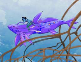 Pandoran creature contest by artbybluedaisy