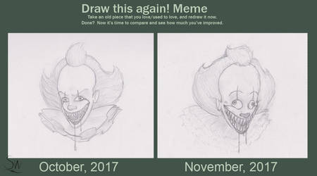 Spooky Pennywise-Draw This Again by Toothlessdragon11