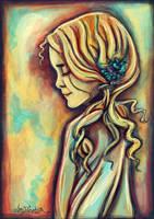 Little Girl Blue by airyfairyamy