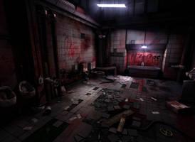 Dirty bathroom by N3oDoc
