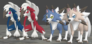 XPS Pokemon Sun and Moon Lycanroc by zoid162010