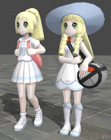 XPS Pokemon Sun and Moon Lillie by zoid162010