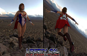 Liberty Gal Test Render by thejpeger