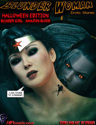 Blunder Woman:Amazon Blood- Halloween 2018 Cover by thejpeger