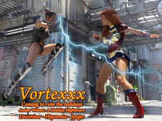 Vortexx Vs Amber Wavez by thejpeger