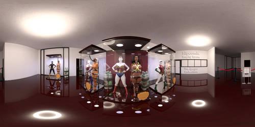 360 VR Trophy Room test render by thejpeger