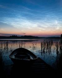 Night shining clouds by Sara-Roth